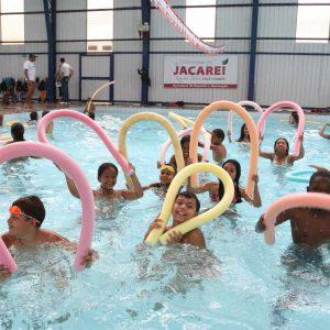 Hidroginástica - piscina aquecida