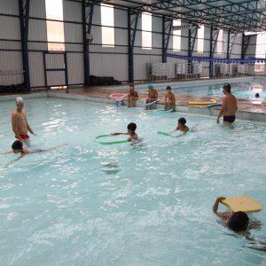 Aula de natação