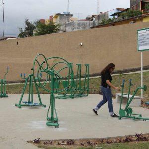 Academia ao ar livre - Jardim Califórnia