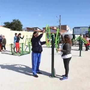 Academia ao ar livre - Jardim Santa Marina