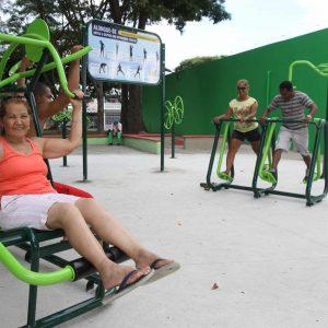 Academia ao ar livre - Jardim das Indústrias