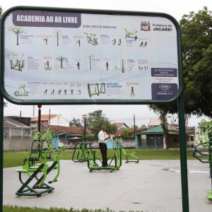 Academia ao ar livre - Parque Meia-Lua