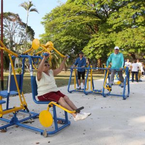 Academia ao ar livre - Parque Brasil