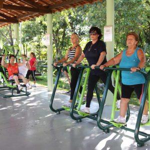 Academia ao ar livre - Parque da Cidade